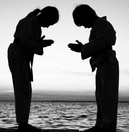 All martial artists share the same path towards becoming better martial artists, regardless of where they find themselves on their journey. This creates a mutual bond, which allows them to see a bit of themselves in the other, even if the other person on the surface appears completely different.